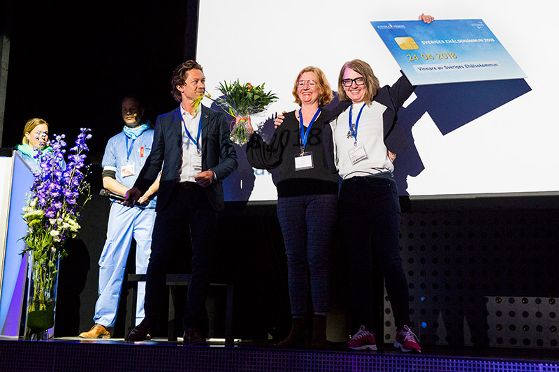 Sveriges eHälsokommun 2018